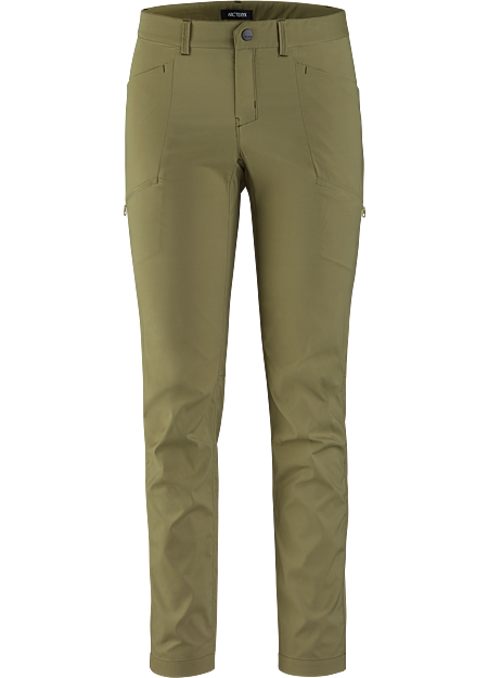 Light and breathable polyester taffeta casual pant for warm days.