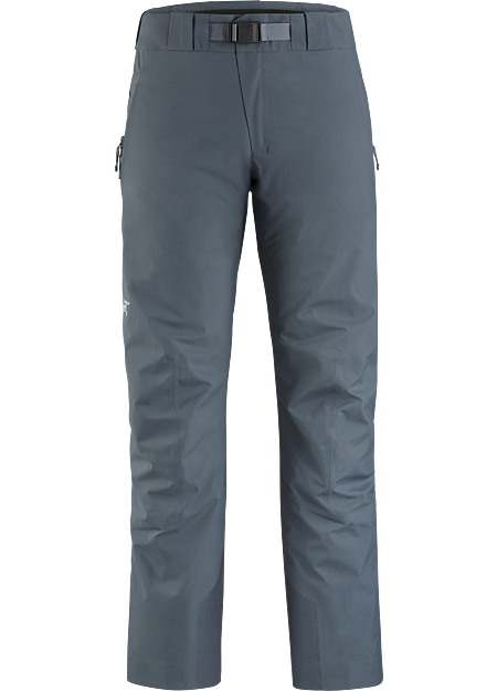 Waterproof, synthetically insulated pant for cold days skiing and snowboarding in resort.