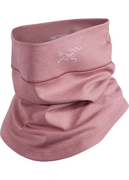 Performance neck gaiter provides lightweight warmth and moisture management.