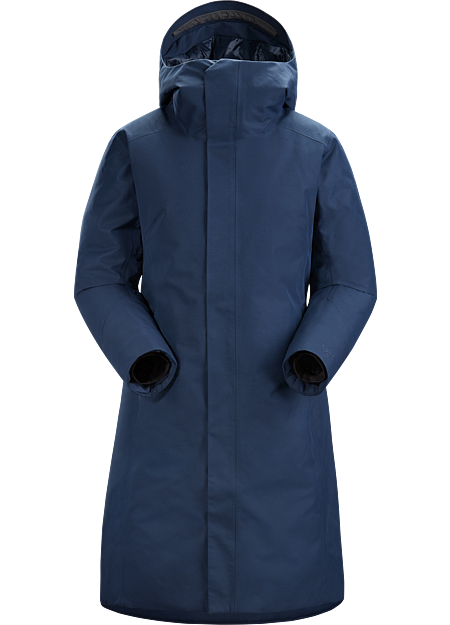 Complete winter protection with the warmth of down and windproof, waterproof GORE-TEX in a sophisticated, relaxed silhouette.