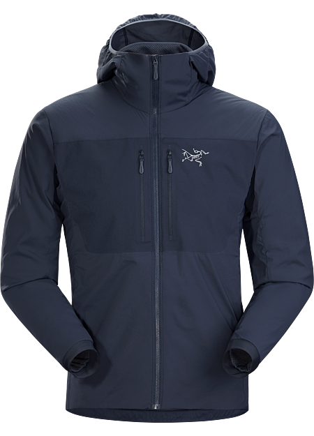 Lightweight, insulated, air permeable softshell for summer alpine and rock climbing. | FL: Fast and Light.