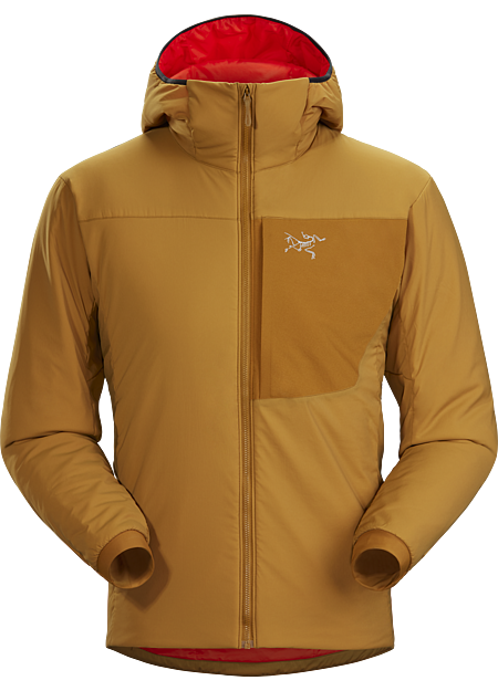 Extremely durable and breathable, synthetically insulated lightweight hoody for high output activities. | LT: Lightweight.