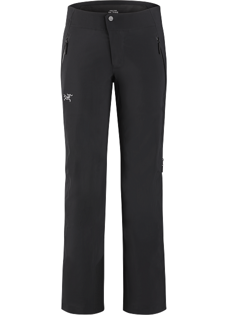 Dynamic stretch and GORE-TEX protection in a trim-fitting women's ski pant.
