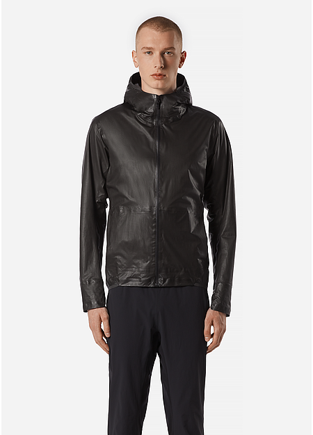 A waterproof jacket made from GORE-TEX SHAKEDRY™.