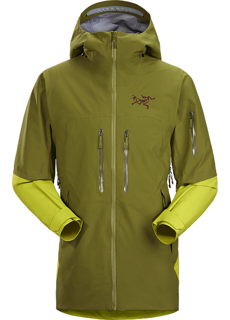 Our longest length, big mountain ski and snowboard GORE-TEX jacket. | LT: Lightweight.