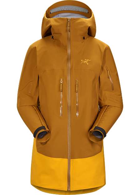 Fully featured, weatherproof GORE-TEX protection in a longer silhouette for freeride touring.