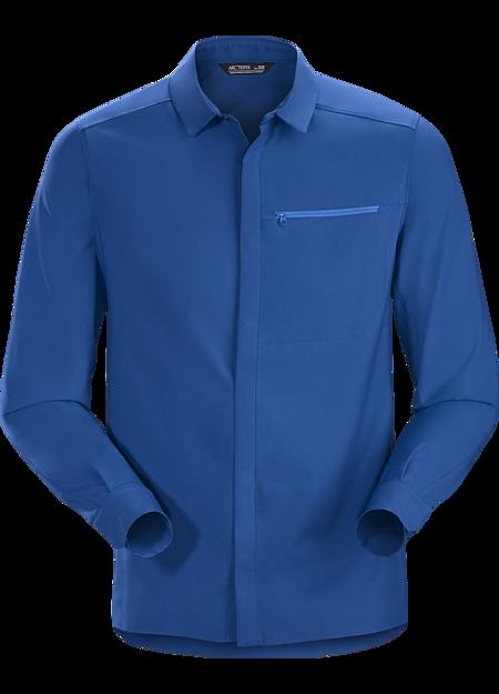 Skyline Shirt LS Men's Cobalt Sun