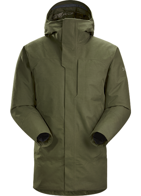 A masterpiece of urban style combining full weather protection with premium goose down.