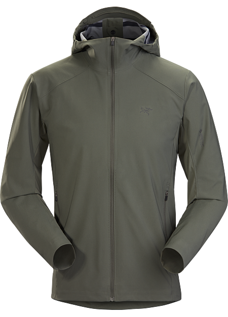 Windproof hoody for mountain training in windy, cool, damp conditions. | SL: Superlight.