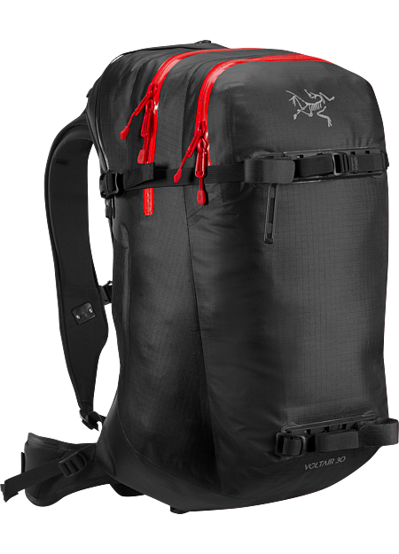 Advanced, powerful 30L backcountry avalanche pack capable of multiple deployments. Battery and charger are sold separately.