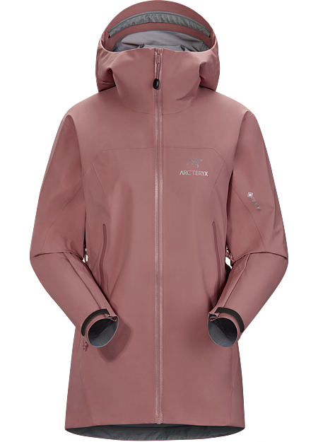 Versatile women's trekking and hiking shell features the comfortable waterproof breathable protection of GORE-TEX fabric with GORE C-KNIT™ backer technology.