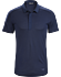 A2B Polo Shirt SS Men's Cobalt Moon