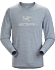 Arc'Word T-Shirt LS Men's Masset Heather