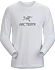 Arc'Word T-Shirt LS Men's White