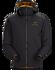 Chaqueta con capucha Atom LT Men's 24K Black
