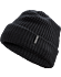 Chunky Knit Toque  Black