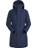 Codetta Coat Women's Cobalt Moon