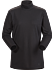 Lumin Mock Neck Women's Black Heather