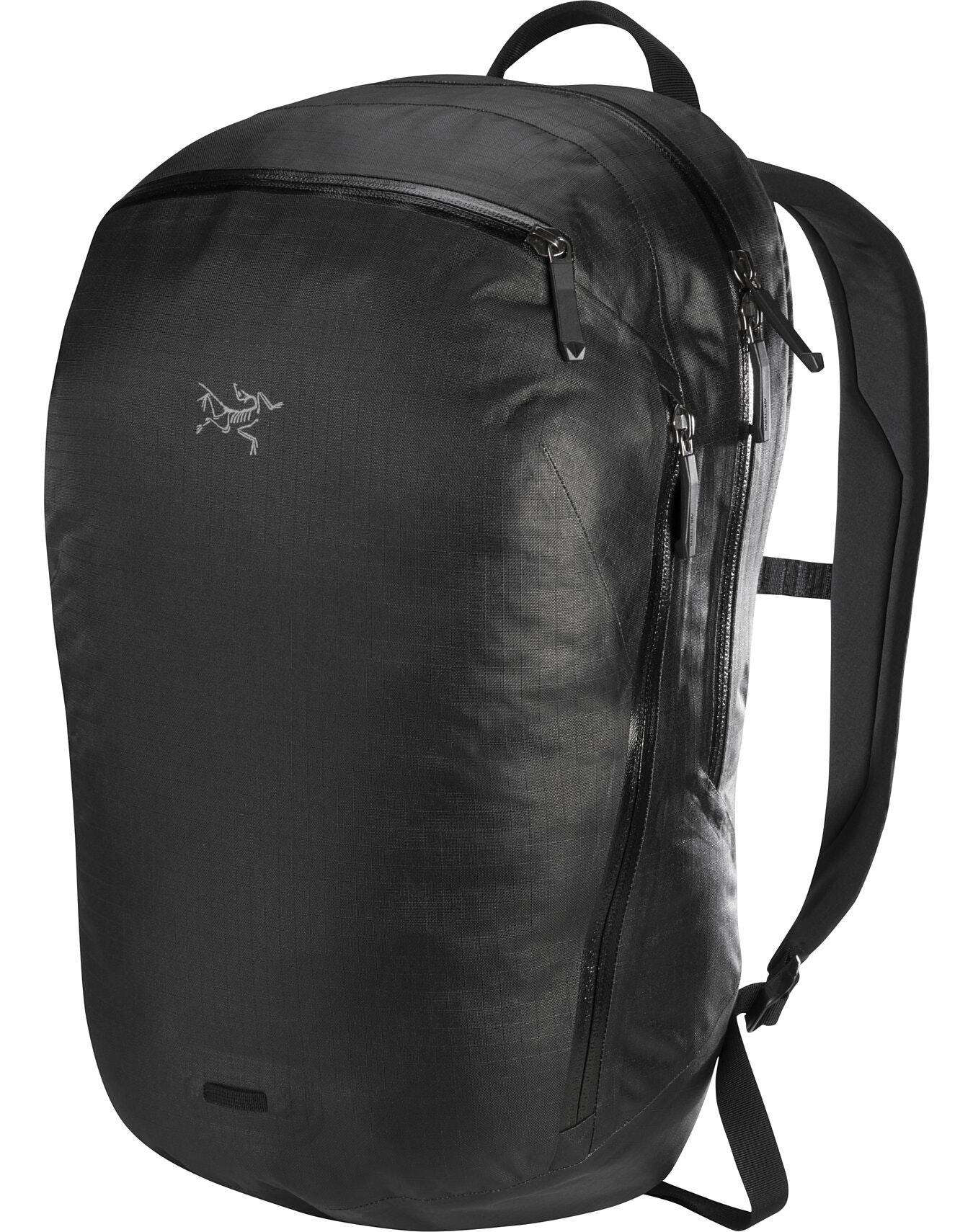 Granville 16 Zip Backpack Black