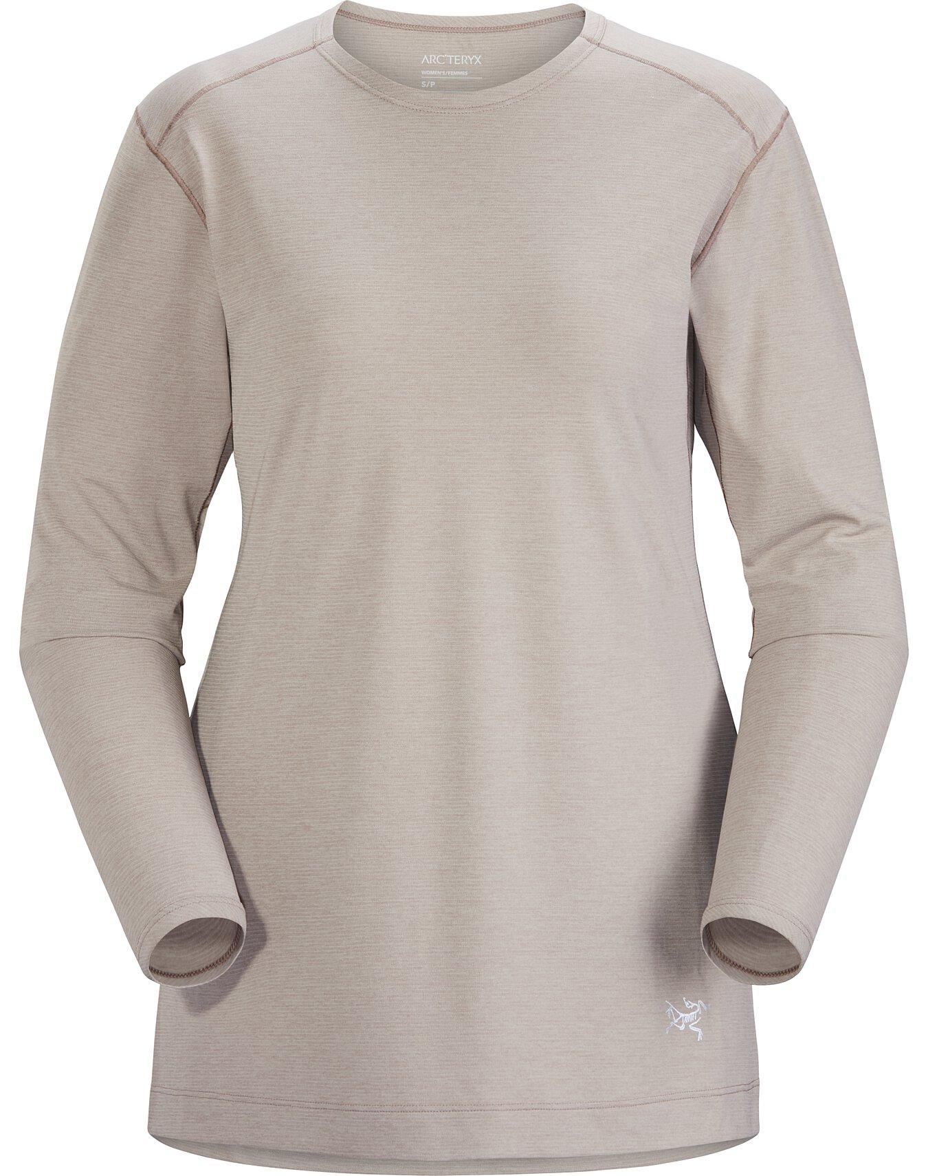 Quadra Crew Neck Shirt LS Women's
