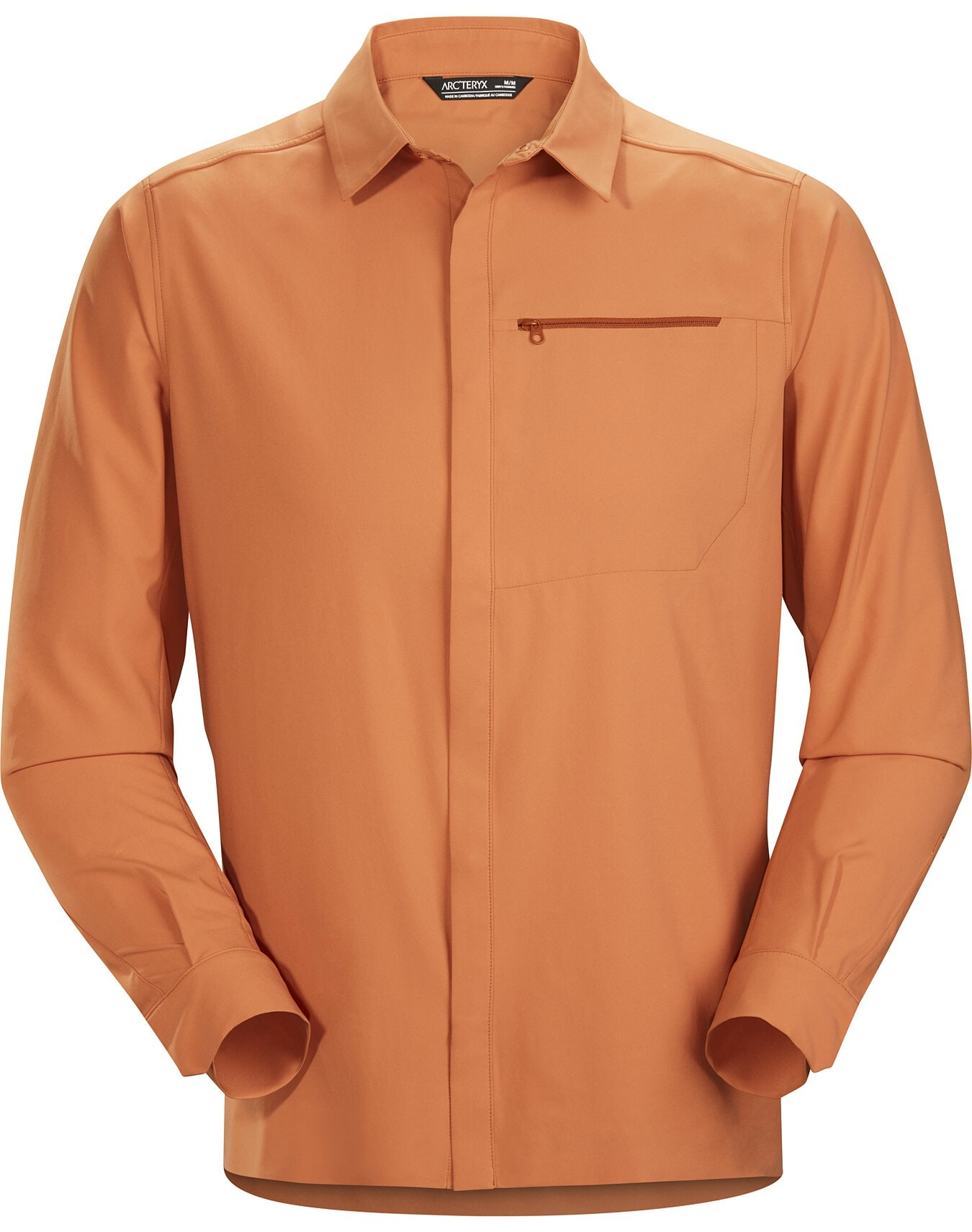 Skyline Shirt LS Terracopper