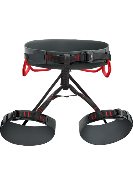 AR: All Around. Extremely versatile adjustable leg harness that excels for sport, trad, alpine, mixed or ice climbing.