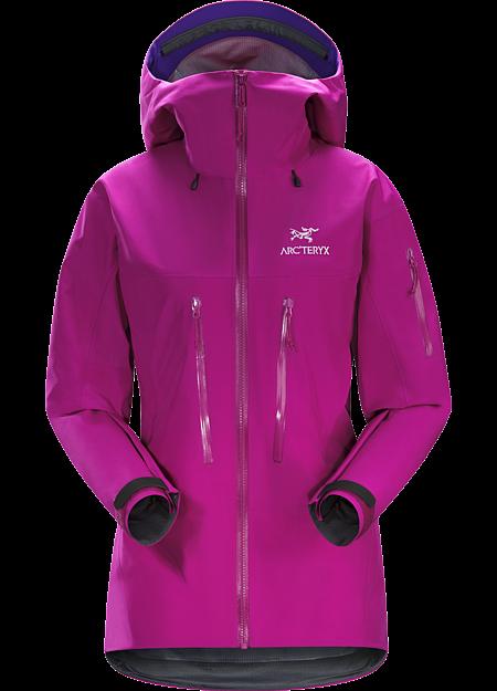 Alpha SV Jacket Women's Violet Wine