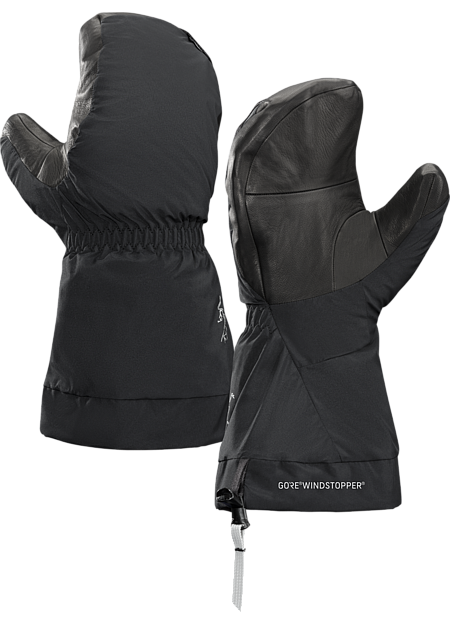 Extreme cold condition, high altitude oriented, technically featured mitt for alpine climbing. Alpha Series: Climbing and alpine focused systems | SV: Severe Weather.