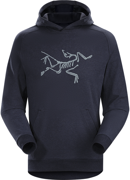 Archaeopteryx Pullover Hoody Men's Navy Heather