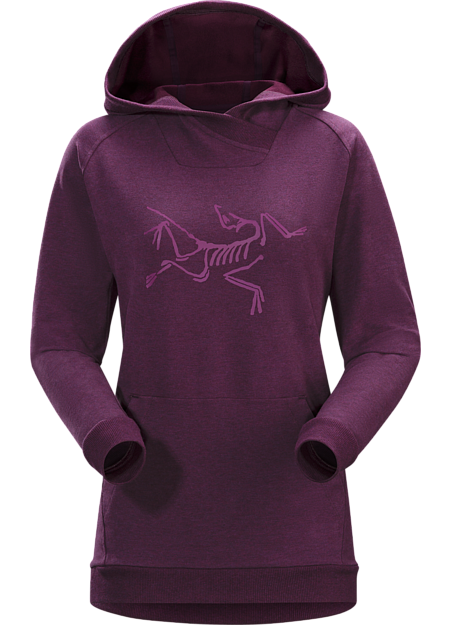 Archaeopteryx Pullover Hoody Women's Mandala Heather