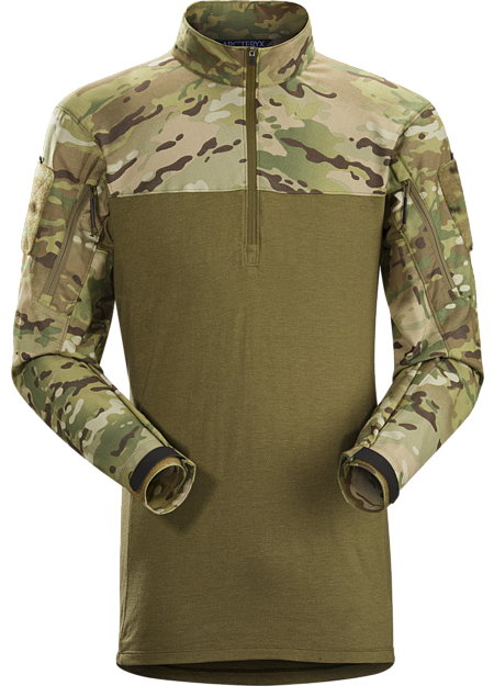 A lightweight no melt/no drip materials based under body armour combat shirt.
