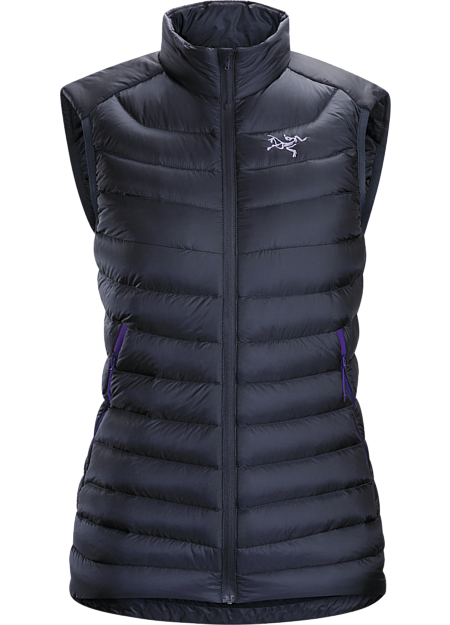 Lightweight, versatile down vest delivers exceptional warmth for its weight. Down Series: Down insulated garments | LT: Lightweight.
