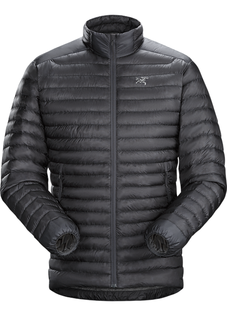 Superlight, highly packable down jacket performs as a midlayer or standalone. Down Series: Down insulated garments | SL: Superlight.