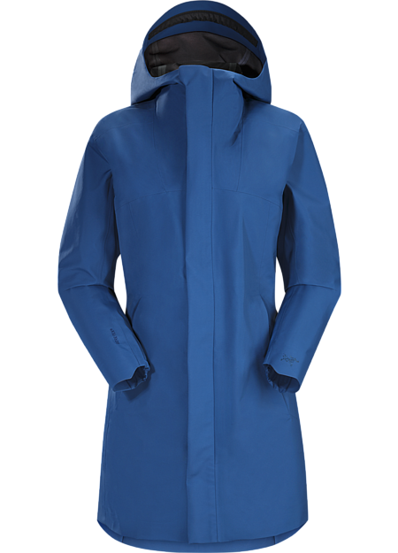 Codetta Coat Women's Poseidon