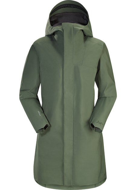 Waterproof, windproof, breathable GORE-TEX® protection with city style.