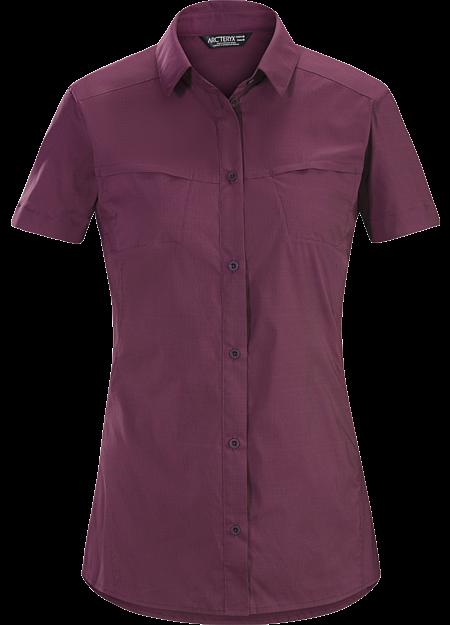 Fernie Shirt SS Women's Purple Reign