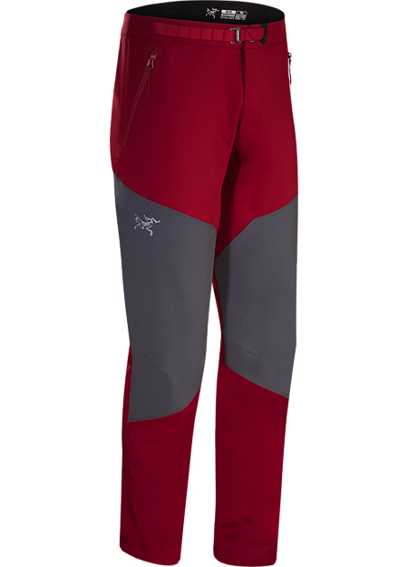Gamma Rock Pant Men's Red Beach