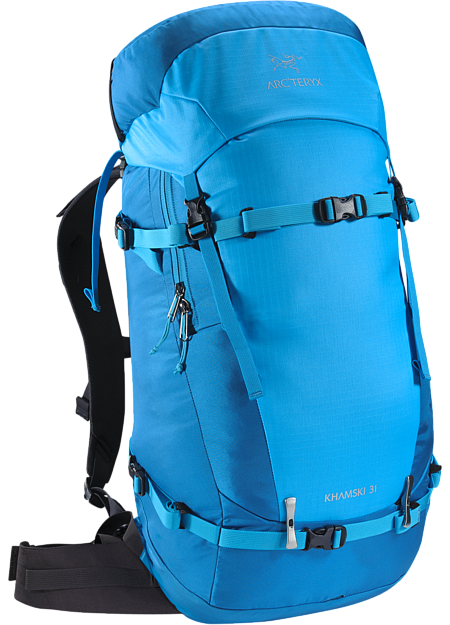 Single day pack specifically created to carry the tools necessary for freeride ski touring, split boarding and ski alpinism.