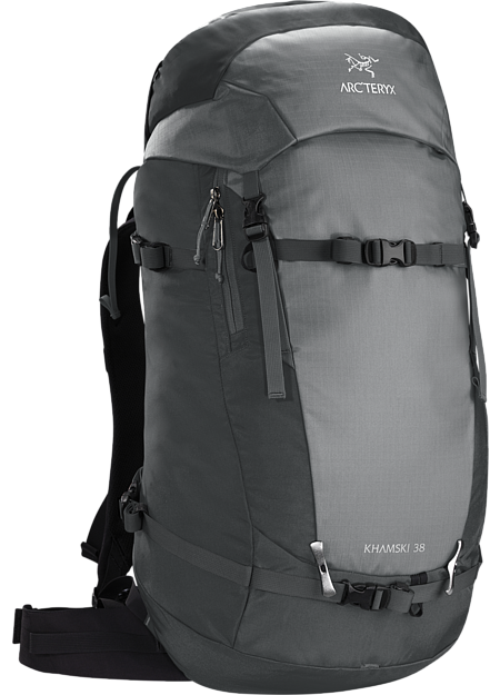 Backcountry pack created and sized to carry the tools necessary for ski touring and ski alpinism on long day trips or multi day adventures.