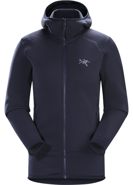 Warm, durable, versatile Polartec® Power Stretch® Pro layering hoody.
