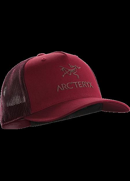 Logo Trucker Hat  Red Beach