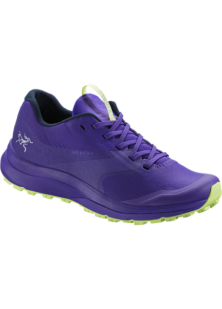 Norvan LD GTX Shoe Women's Dahlia/Lumen Lime
