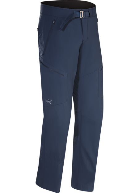 Technical trail pant constructed with air permeable, quick-drying, durable TerraTex™ stretch nylon fabric.