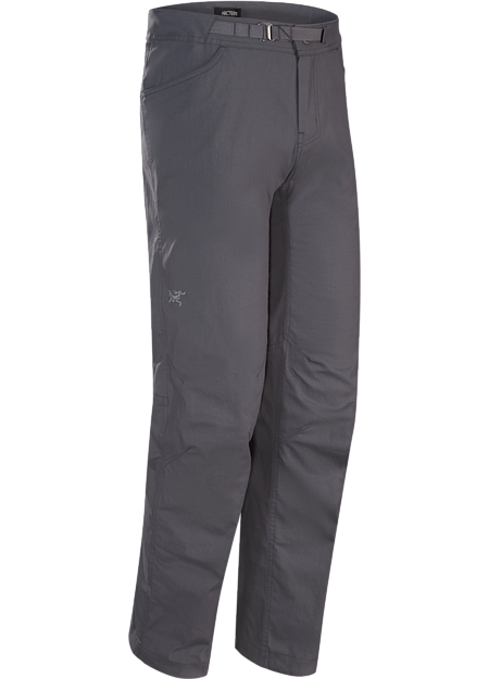Lightweight, durable climbing pant with versatile crossover style.