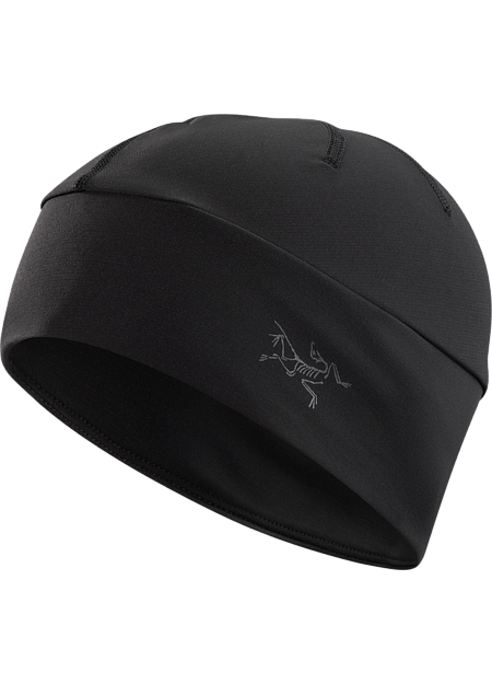Low profile, lightweight, moisture wicking beanie constructed using Phasic™ base layer textiles; Ideal for all weather running and aerobic activities. Phase Series: Moisture wicking base layer | AR: All-Round.