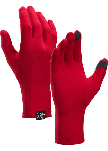 Light glove or liner that is lightweight and comfortable.