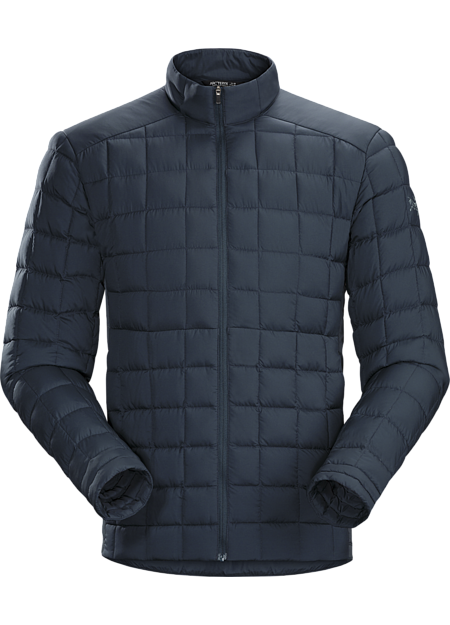 Lightweight, casual down jacket for warmth around town.