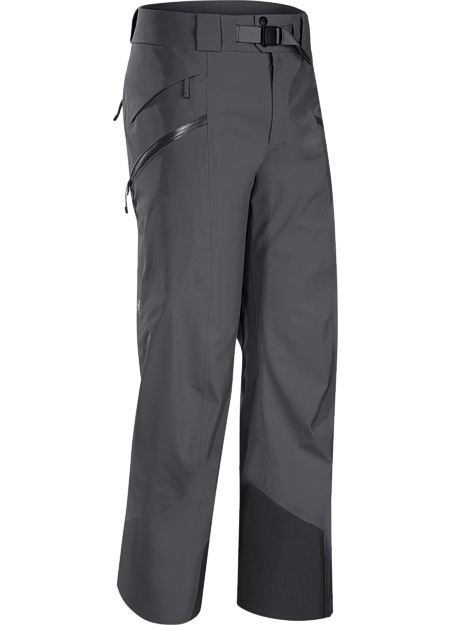 Lightly insulated, waterproof, GORE-TEX® pant with a Slide 'n Loc™ snap system that attaches to compatible jackets. Maintains the freeride styling but has a more contemporary look with Regular fit.