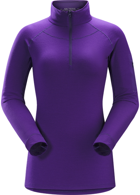 Midweight Merino baselayer delivering wool performance with enhanced durability.