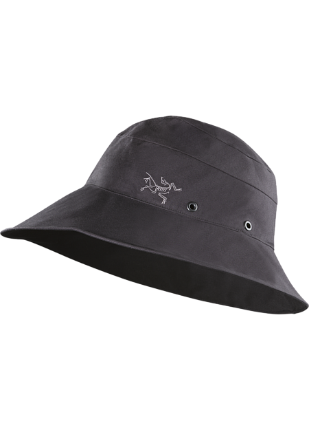 Lightweight, sun hat with soft, pliable brim that compresses easily to fit in your pocket